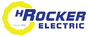 H Rocker Electric Logo